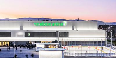 Vaudoise aréna - Gestion d'une installation sportive multifonctionnelle ☑